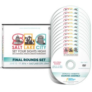 2016 HS Final Rounds DVD Set