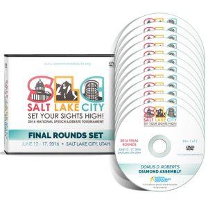 2016 HS Final Rounds DVD Set
