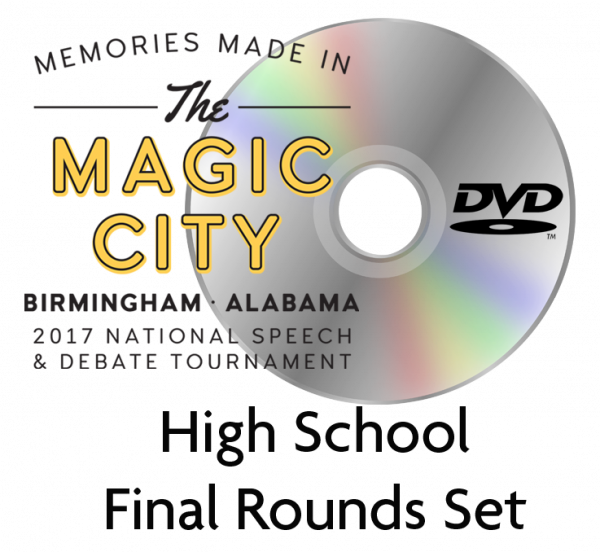 2017 HS Final Rounds DVD Set
