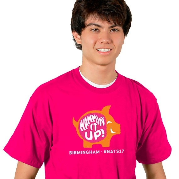 "2017 ""Hammin' it Up"" National Tournament T-Shirt"