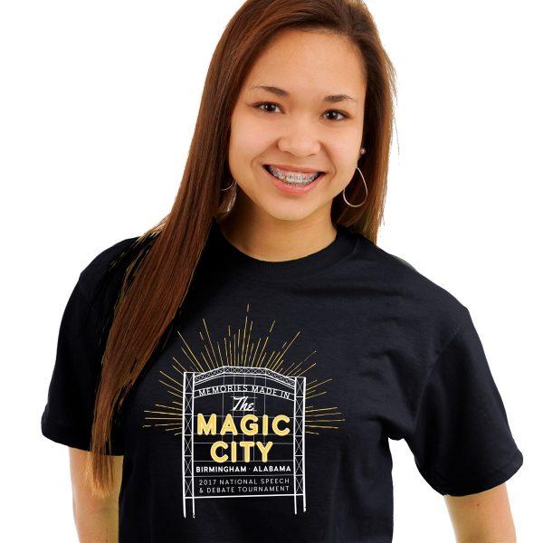 "2017 ""Magic City"" National Tournament T-Shirt"