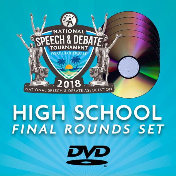 2018 HS Final Rounds DVD Set