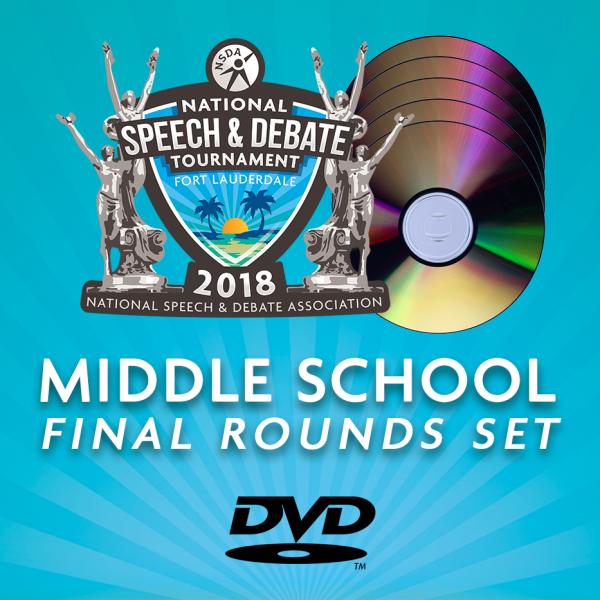 2018 MS Final Rounds DVD Set
