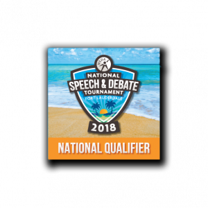 2018 National Tournament Qualifier Button