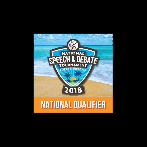 2018 National Tournament Qualifier Button