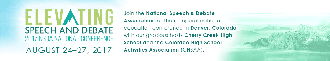 Elevating Speech and Debate: National Education Conference