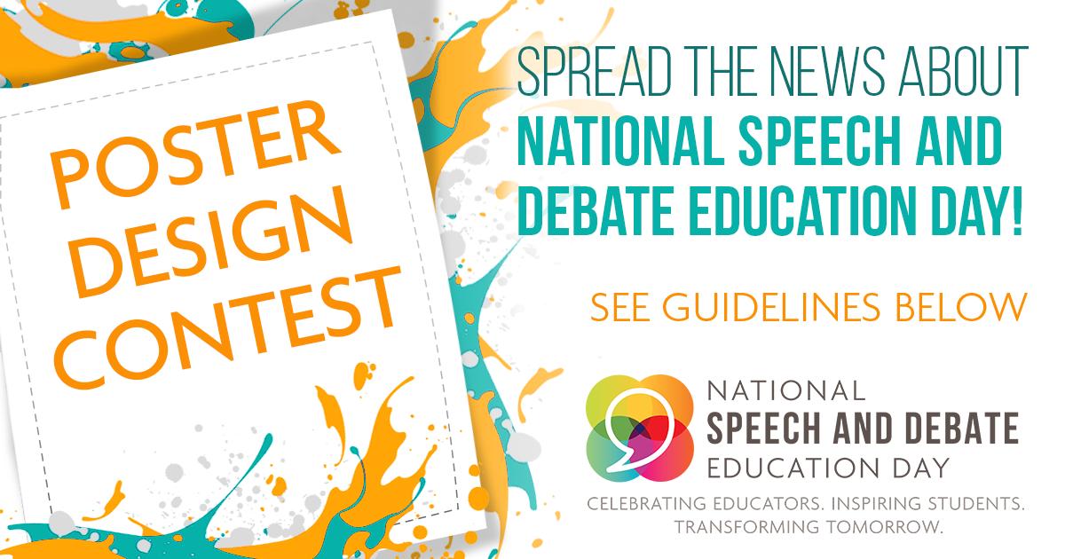 Poster Design Contest | National Speech & Debate Association