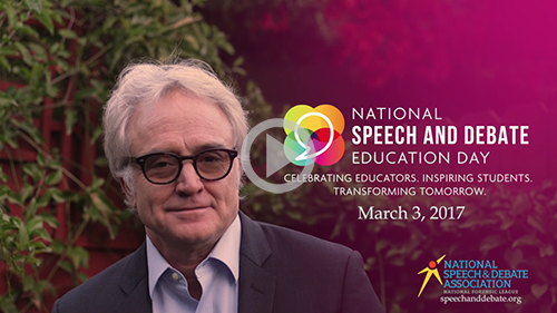 Bradley Whitford Video - Thank You, Coaches!