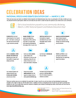NSDE Day Celebration Ideas