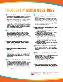 NSDE Day Frequently Asked Questions