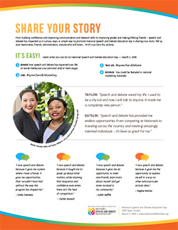 NSDE Day Share Your Story