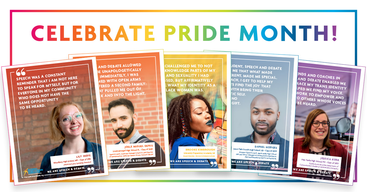 Celebrate Pride Month Posters!