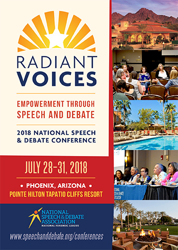 2018 NSDA National Conference Brochure