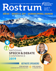 Rostrum Magazine Cover November/December 2018