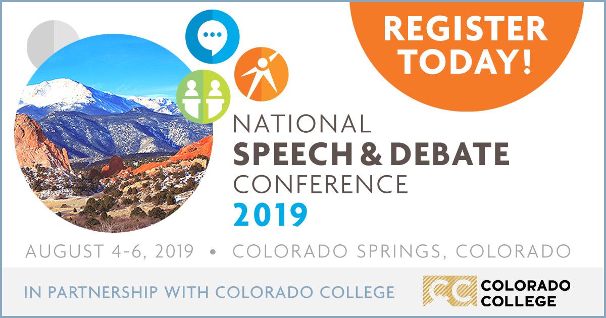 NSDA National Conference | National Speech & Debate Association