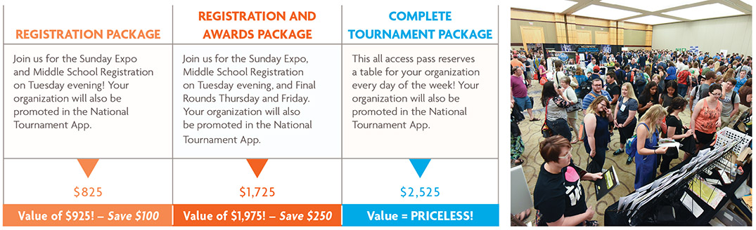 2019 Expo Package Discounts