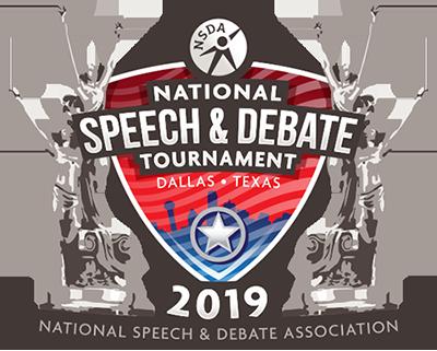 2019 National Speech and Debate Tournament Dallas Texas