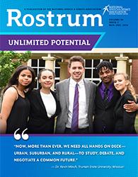 Rostrum Magazine Cover November/December 2019