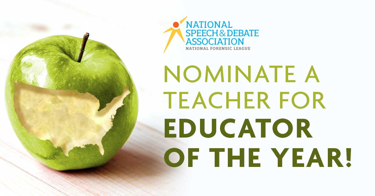 Nominate A Teacher For Educator Of The Year