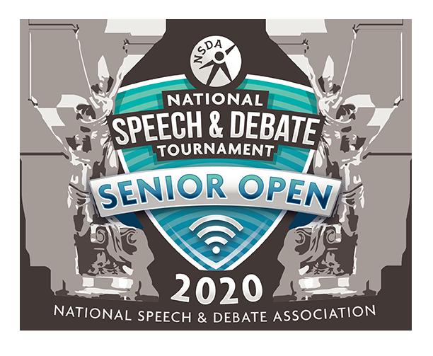 2020 National Speech and Debate Tournament Senior Open