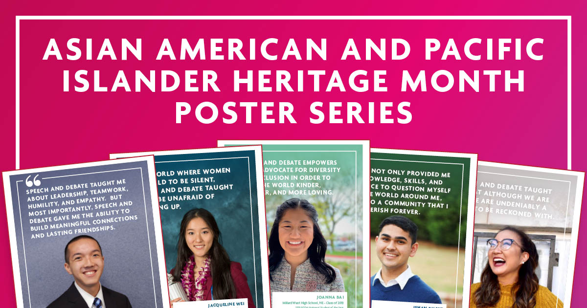 Asian American and Pacific Islander Heritage Month Poster Series