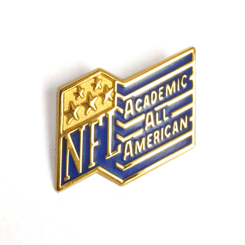 Academic All American Pin