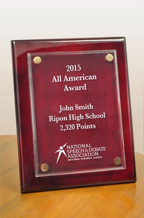 All American Award