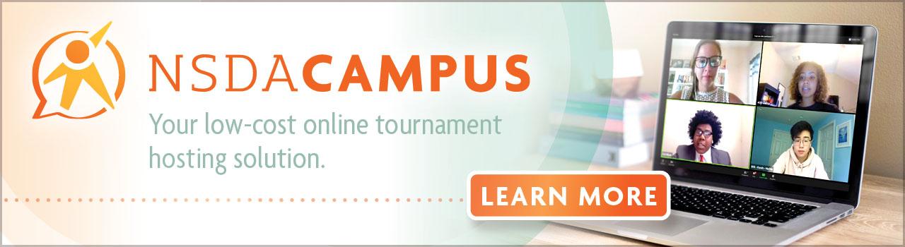 NSDA Campus Banner