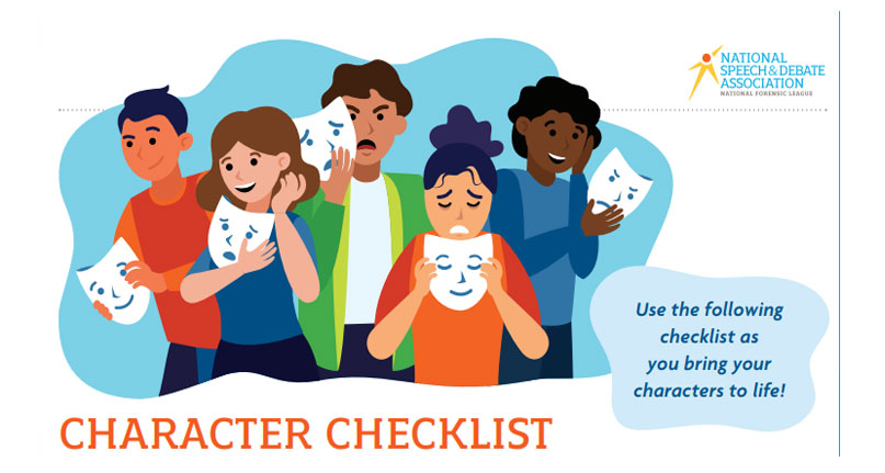 Character Checklist