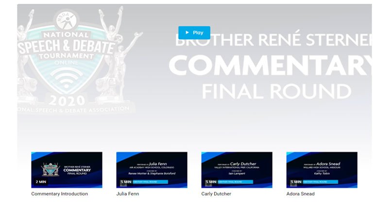 Commentary Final Round