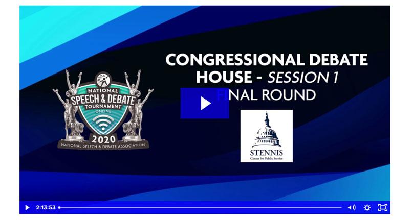 Congressional Debate Final Round