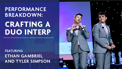 Performance Breakdown: Crafting A DUO Interp Featuring Ethan Gambriel and Tyler Simpson