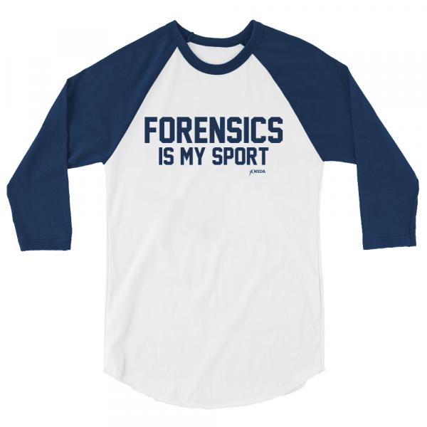 Forensics is My Sport Baseball Shirt
