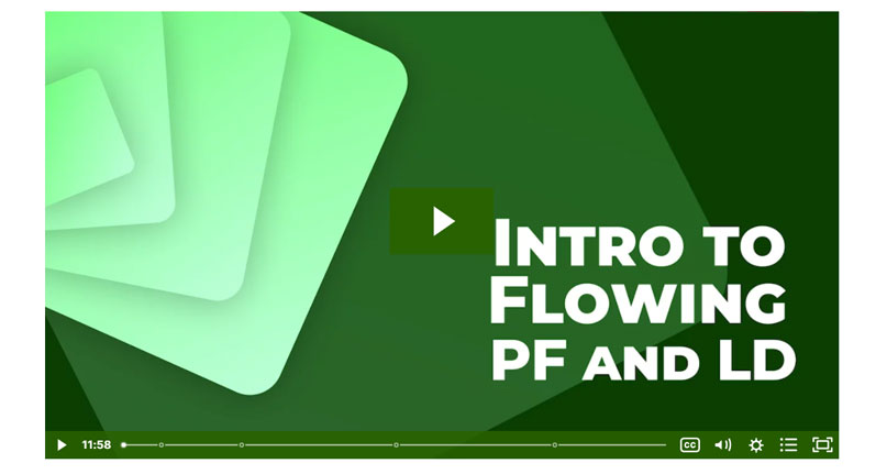 Intro to Flowing PF and LD