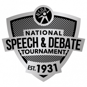 National Tournament Lapel Pin