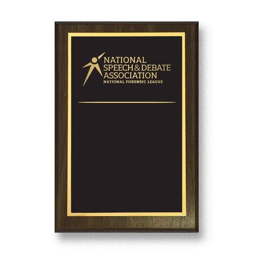 Custom Honor Plaque