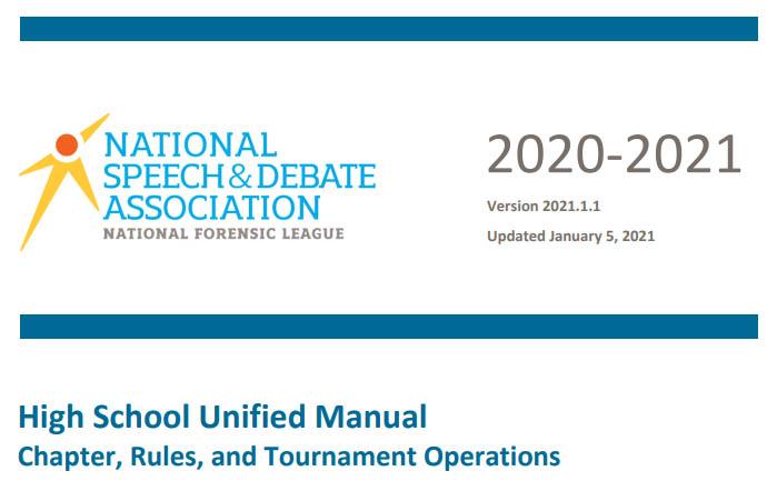 High School Unified Manual