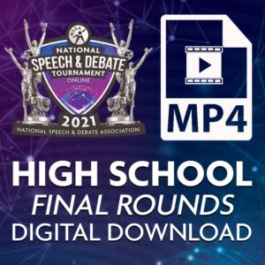 Nationals 2021 High School Final Round Digital Downloads