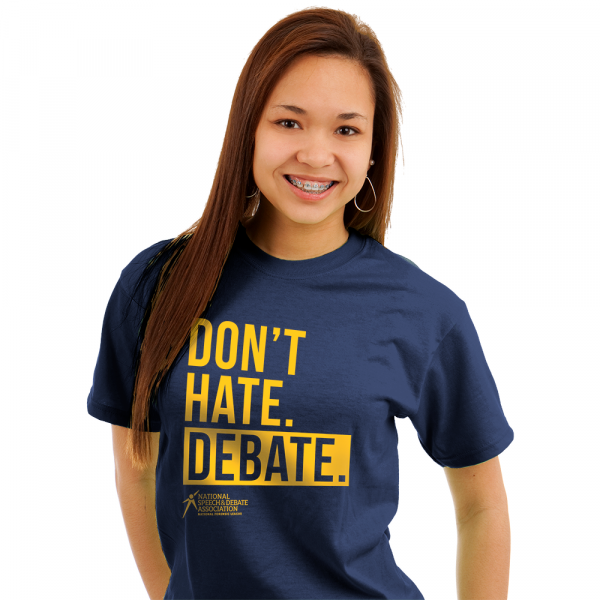 Don't Hate. Debate. T-Shirt