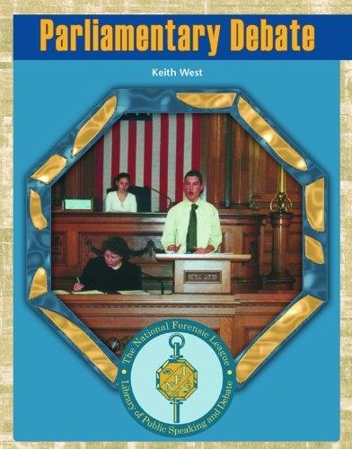 Parliamentary Debate: Keith West