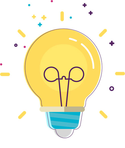 Illustrated Lightbulb