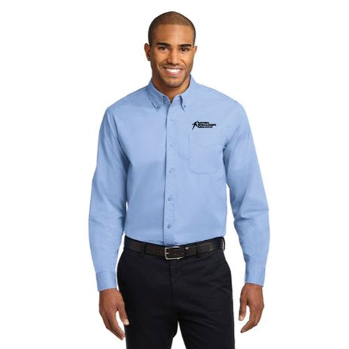 Men's Collared Dress Shirt