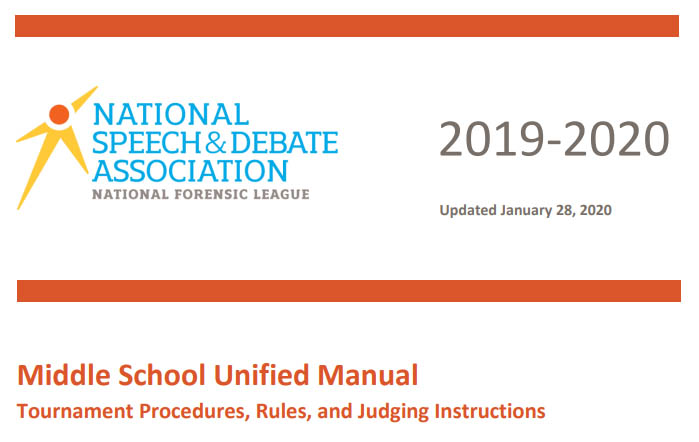 Middle School Unified Manual