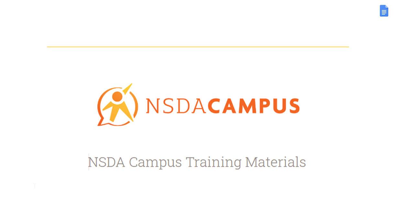 NSDA Campus Doc