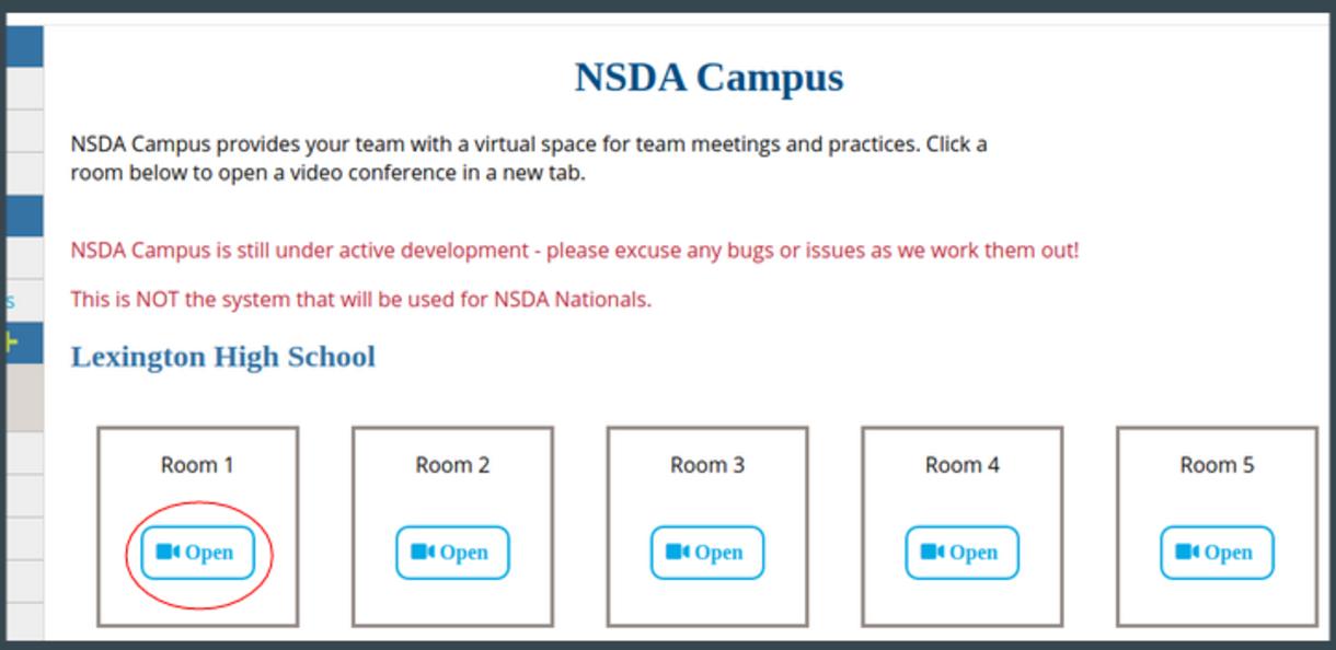NSDA Campus Practice