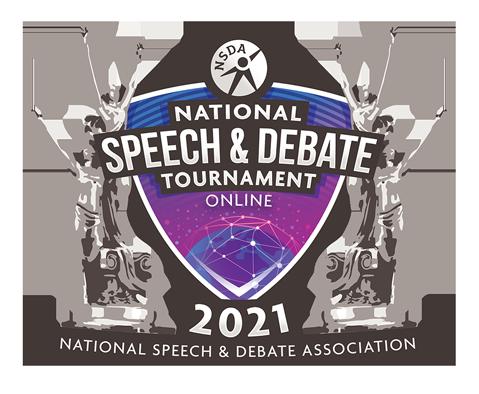 2021 National Speech and Debate Tournament Online