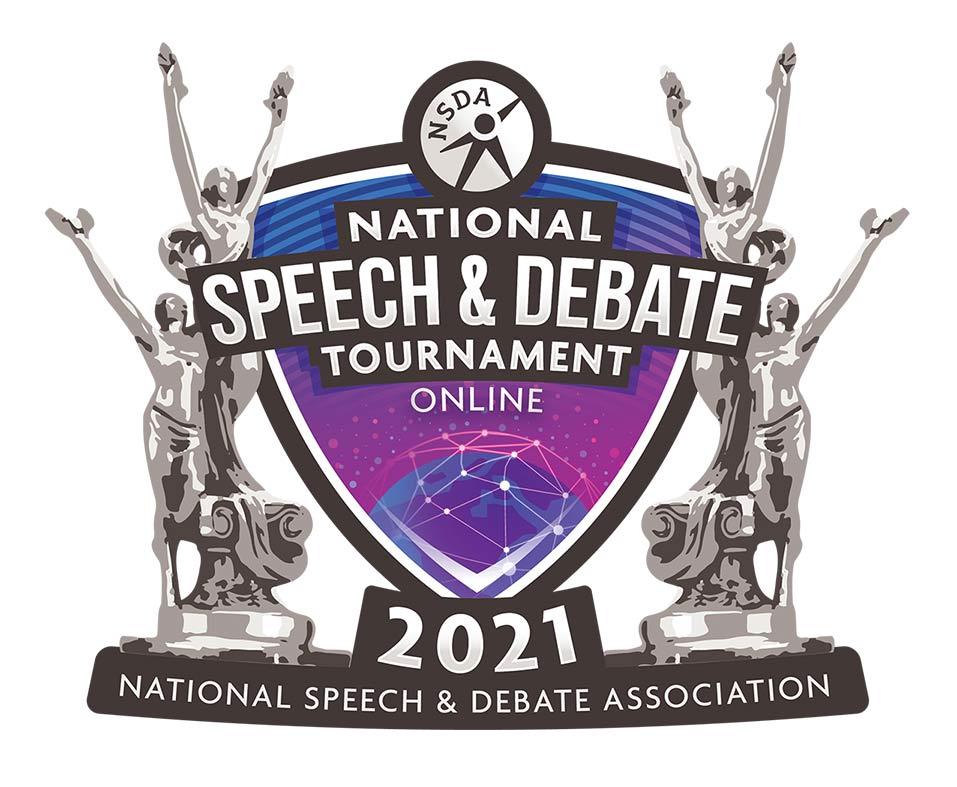 National Speech and Debate Tournament Online Logo