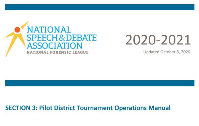 Pilot District Qualifications Manual