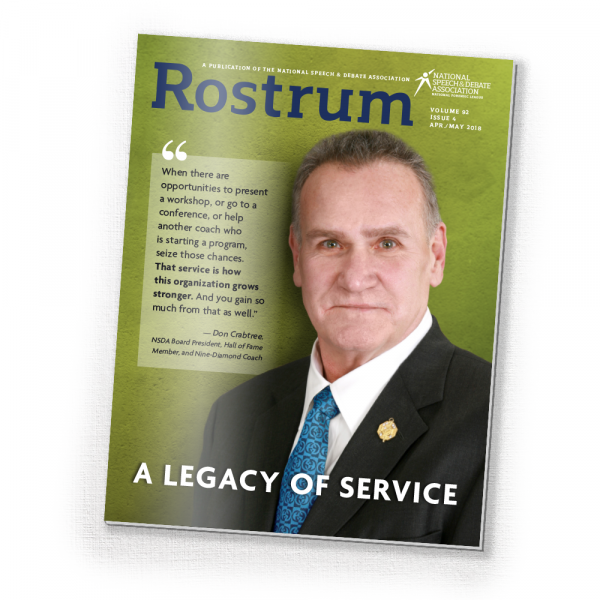 2018 April/May Rostrum