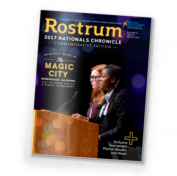 2017 August Rostrum (Nationals Chronicle)